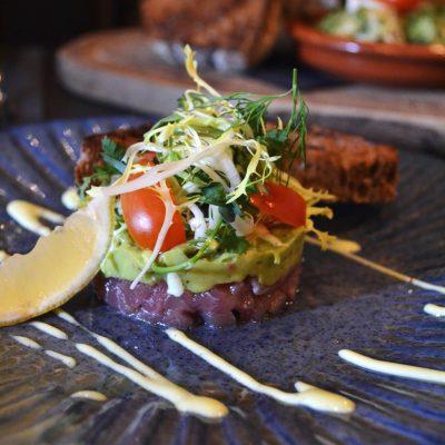 Steak tartaar restaurant Black Amsterdam